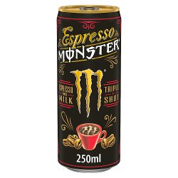 Monster Espresso Energy Drink Can
