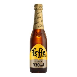 Leffe Blonde Abbey Beer Bottle 330ml
