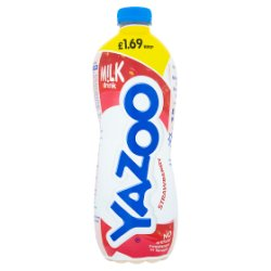Yazoo Strawberry Milk Drink 1L