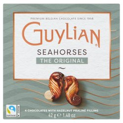 Guylian 4 Belgian Chocolates Sea Horses Original 42g
