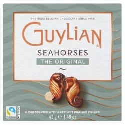 Guylian 4 Belgian Chocolates Sea Horses Original Praliné 42g