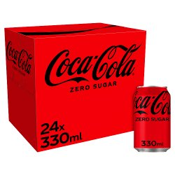 Coca-Cola Zero Sugar 24 x 330ml