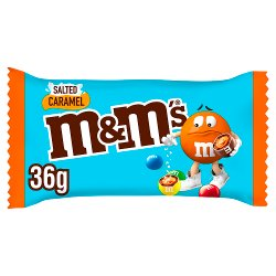 M&M's Salted Caramel Chocolate Bag 36g
