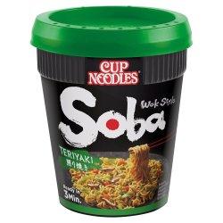 Nissin Soba Teriyaki Noodles with Yakisoba Sauce 90g