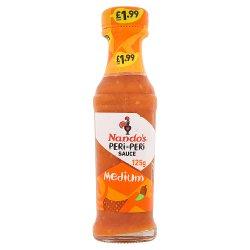Nando's PMP PERi-PERi Sauce Medium 125g