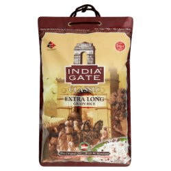 India Gate Classic Extra Long Grain Rice 5kg