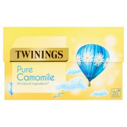 Twinings Calming Camomile 20 Enveloped Tea Bags 20g