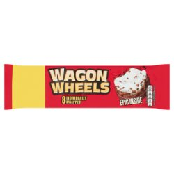 Wagon Wheels 8 Individually Wrapped