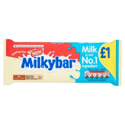 Nestlé® Milkybar® White Chocolate Sharing Block 100g