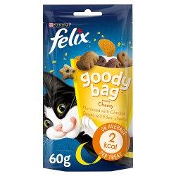 Felix Goody Bag Cat Treats Cheezy Mix 60g