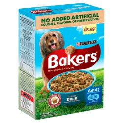 BAKERS® Adult Duck and Vegetable 1.35kg