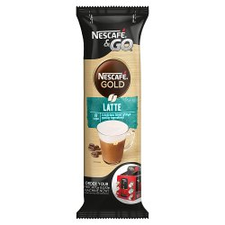 Nescafé &Go Gold Latte Coffee Sleeve of 8 Cups x 23g