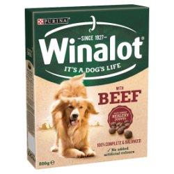 WINALOT Adult Dry Dog Food Beef 800g
