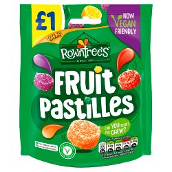 ROWNTREE'S Fruit Pastilles Sweets Sharing Bag 120g £1