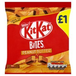 Kit Kat Bites Peanut Butter Chocolate Bag 81g