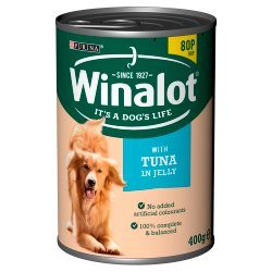 WINALOT Classics Tinned Dog Food with Tuna in Jelly 400g