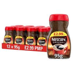 Nescafe Original Instant Coffee 12 x 95g £2.99 PMP
