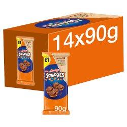 Smarties Orange Chocolate Sharing Block 90g