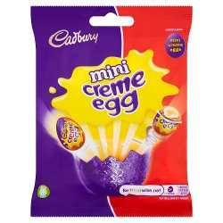 Cadbury Creme Egg Minis Bag 78g