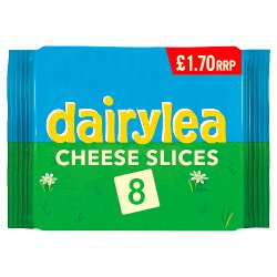 Dairylea Cheese Slices 8 Pack £1.70 200g