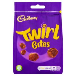 Cadbury Twirl Bites Chocolate Bag 109g
