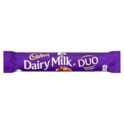 Cadbury Dairy Milk Duo Chocolate Bar 65g