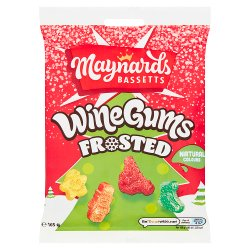 Maynards Bassetts Wine Gums Frosted 165g