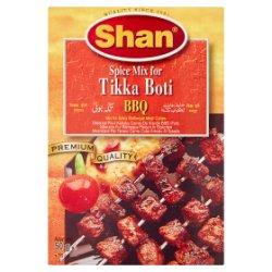 Shan Spice Mix for Tikka Boti BBQ 50g