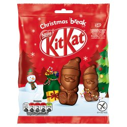 KitKat Santa Milk Chocolate Sharing Bag (5x11g)