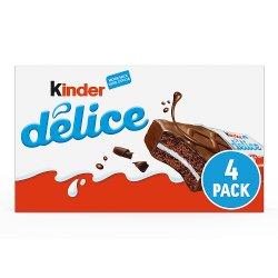 Kinder Delice Cake Bar 4 x 39g