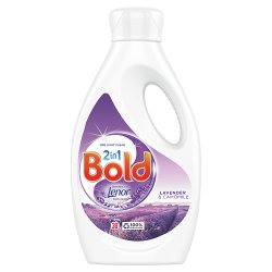 Bold 2in1 Washing Liquid Lavender & Camomile 1.33L 38 Washes