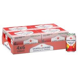 San Pellegrino Blood Orange 4x6x330ml