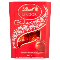 Lindt Lindor Milk Chocolate Truffles Box 37g