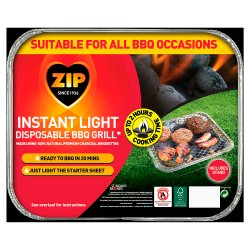 Zip Instant Light BBQ Tray 540g