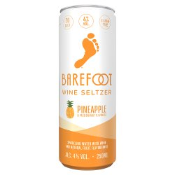 Barefoot Wine Seltzer Pineapple & Passionfruit 250ml
