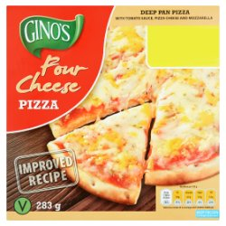Ginos Cheese & Tomato Pizza PM GBP1.39