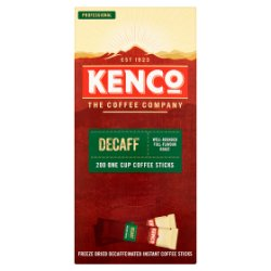 Kenco Decaf Instant Coffee Stickpacks x200