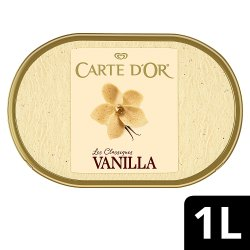 Carte D'or Classics Vanilla Ice Cream Dessert 1000ml