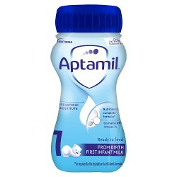Aptamil 1 First Infant Milk from Birth 200ml