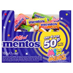 Mentos Mix of Minis 10.5g