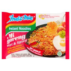Indo Mie Instant Noodles Mi Goreng Hot & Spicy 80g