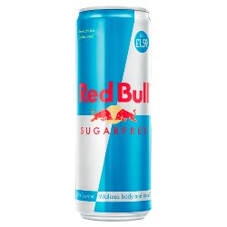 Red Bull Energy Drink, Sugar Free, 355ml PMC £1.49