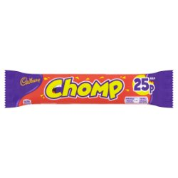 Cadbury Chomp 25p Chocolate Bar 23.5g