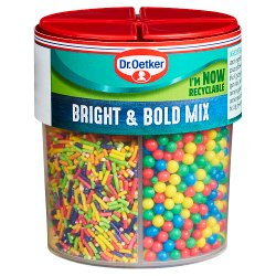Dr. Oetker Bright & Bold Sprinkles Mix 89g