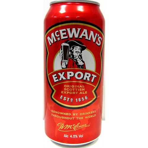 McEwan's Export The Original Scottish Export Ale 500ml