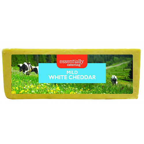 Essentially Catering Mild White Cheddar