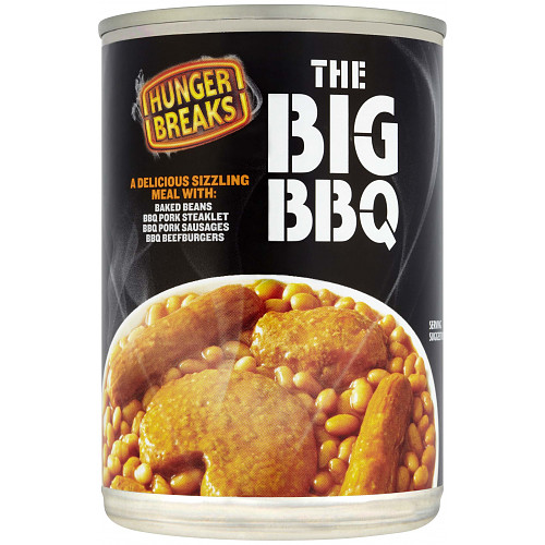 Hunger Breaks The Big BBQ 395g