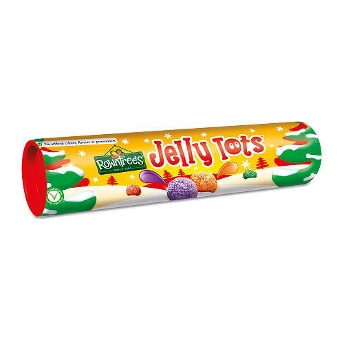 ROWNTREE'S JELLY TOTS Sweets Giant Tube 130g