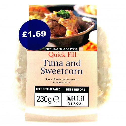 Quick Fill Versatile Deli Fillers Tuna and Sweetcorn 230g