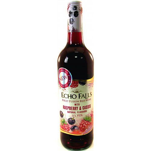 Echo Falls Fruit Fusion Raspberry & Cassis 750ml